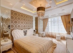 Использование стиля арт деко в оформлении интерьера спальни