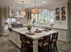 Оформление интерьера кухни в американском стиле