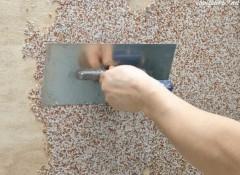 Использование мраморной крошки для отделки стен