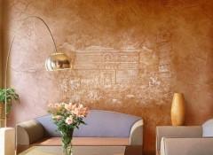 Стены из глины — особенности отделки