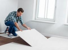 Как своими руками сделать пол из керамзита и ГВЛ