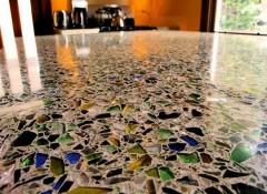 Что представляет собой и виды бетонно-мозаичных полов