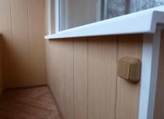 Использование пластиковых панелей для отделки балкона
