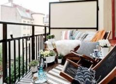 Использование стиля прованс в оформлении балкона