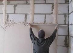 Как штукатурить стены правильно своими руками