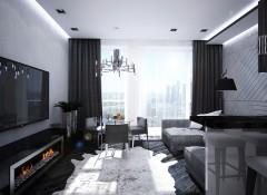Квартира с панорамными окнами — преимущества, недостатки, оформление
