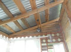 Крыша веранды — как правильно утеплить?