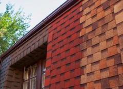 Особенности применения для фасада мягкой плитки