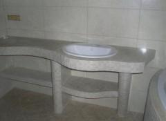 Как своими руками сделать в столешницу в ванной из гипсокартона?