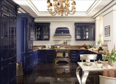 Использование стиля арт-деко в интерьере кухни