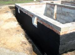 Использование битумной мастики для гидроизоляции погреба