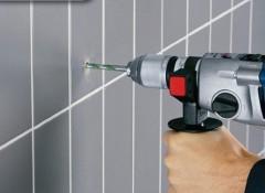 Как в домашних условиях просверлить плитку?