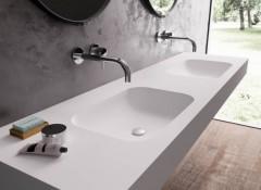 Плюсы и минусы акриловых столешниц в ванную