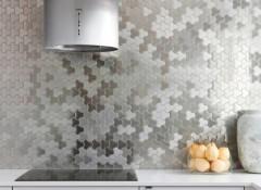 Основные виды фартука для кухни из мозаики