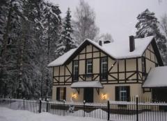 Немецкий стиль в оформлении фасада дома