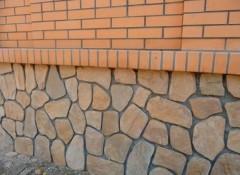 Как своими руками сделать имитацию камня при отделке фундамента?