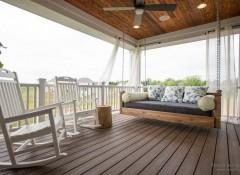 Виды и особенности подвесных диванов-качелей
