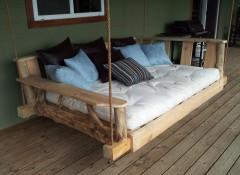 Как своими руками сделать подвесной диван?