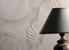 Рельефная декоративная штукатурка в интерьере