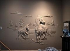 Варианты создания из штукатурки рельефных картин и панно