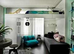 Интерьер в однокомнатной квартире — как оформить?