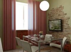 Стена с телевизором — особенности оформления