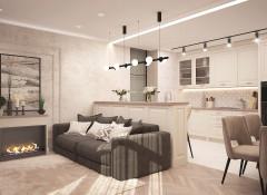 Дизайнерский ремонт квартиры в Киеве